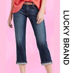 LUCKY BRAND Easy Rider Crop Jeans 8